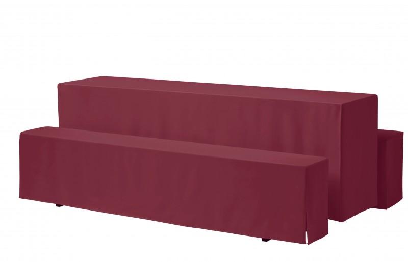 Festzelt-Tischhusse Rialto President 170gr/m² für 50 bis 70 cm breiten Tisch – Bild 4