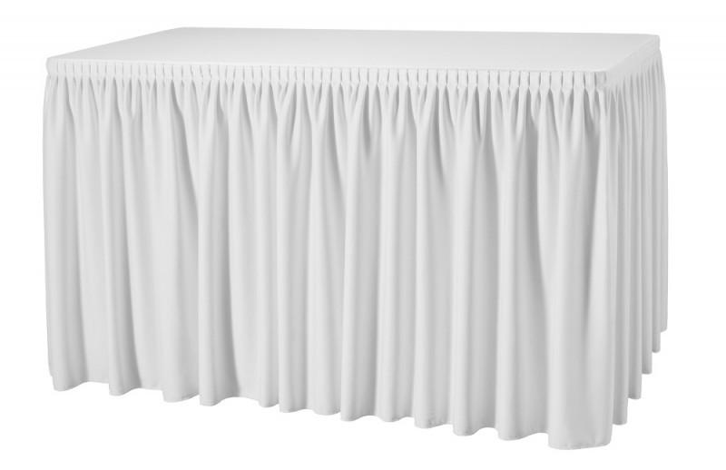 Skirting Plissé President Tischskirtings für 410 Tischumfang - Schnäppchen