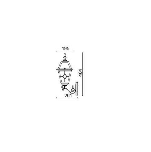 2er Set Bristol BT4001A schwarz inkl. Leuchtmittel – Bild 3