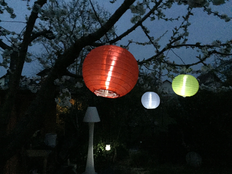 Solar Lampion 5er Kette Celebration Bt1523 Solar