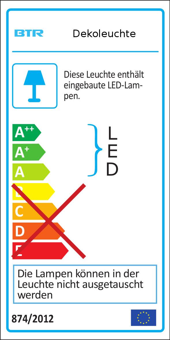 RGB Leuchtwürfel 40cm inkl. Lautsprecher Bari BT1701-40CS – Bild 3