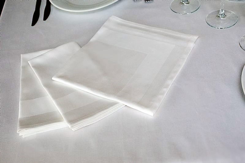 Stoffservietten aus Baumwolle 50x50cm 6er Set  – Bild 3