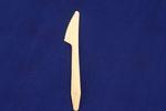 Messer ummantelt aus Birkenholz, 16,5cm lang, 100 Stück  1