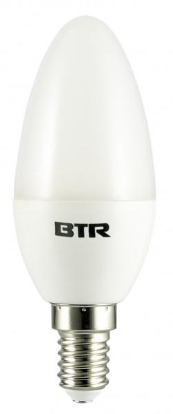 12er Set LED Leuchtmittel BT9394SI C37, 5,5W, E14, 470lm Non-dim., warmweiß, Energiesparlampe  – Bild 1