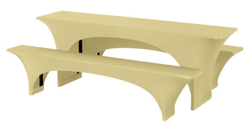 Festzeltgarnitur Stretch-Uni für 50 und 70cm breite Garnituren  – Bild 3