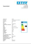 BT2463 10er Set LED Leuchtmittel G45, Leistung 2W, E14, 136 lm, 5 SMD, Energiesparlampe 3