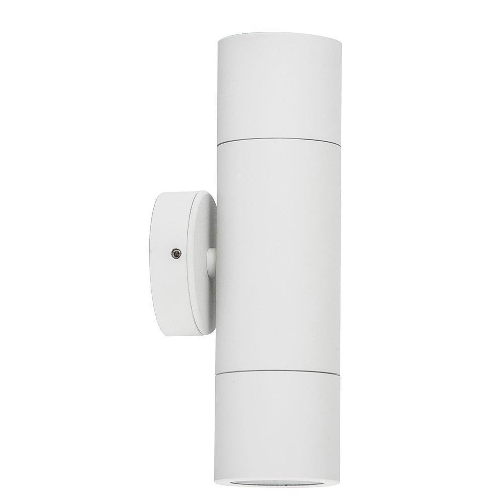 HV1035-HV1037 - Tivah White Up & Down Wall Pillar Lights – Bild 1