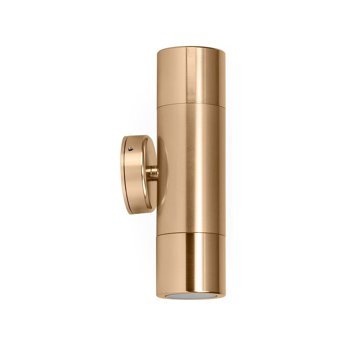 HV1056 - Tivah Gold Up & Down Wall Pillar Light – Bild 1