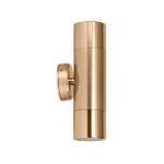 HV1056 - Tivah Gold Up & Down Wall Pillar Light 001