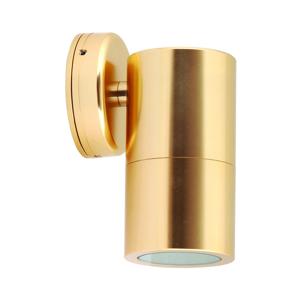 HV1156 - Tivah Gold Fixed Down Wall Pillar Light – Bild 1