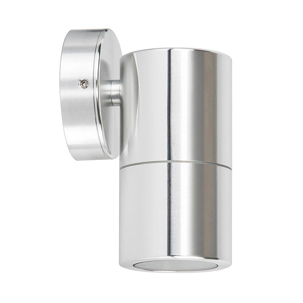 HV1165-HV1167 - Tivah Silver Aluminium Fixed Down Wall Pillar Lights – Bild 1