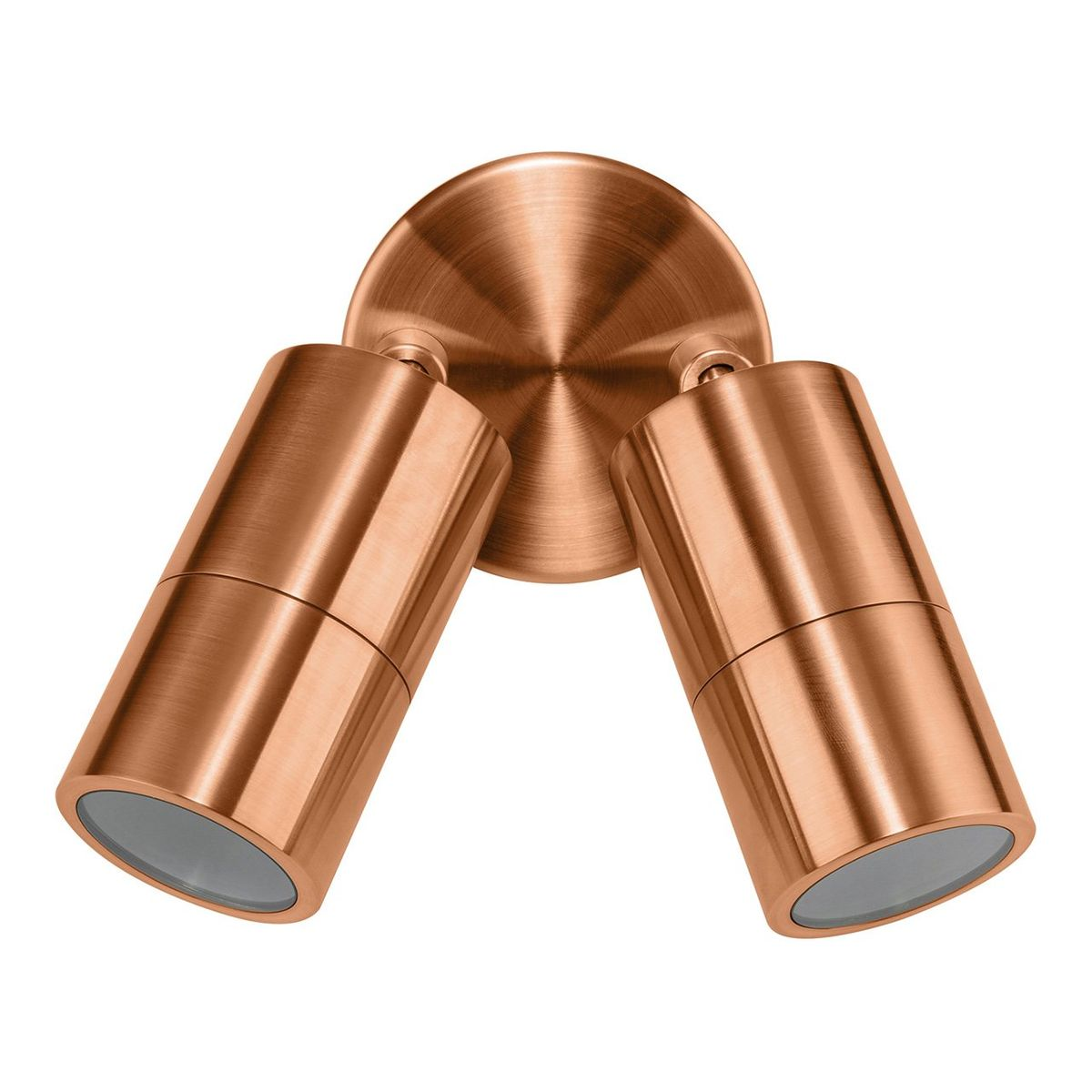 HV1315-HV1317 - Tivah Solid Copper Double Adjustable Spot Lights – Bild 1