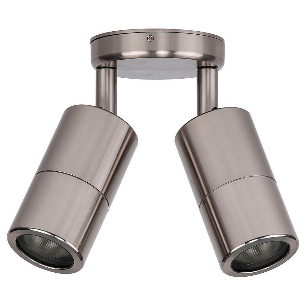 HV1385-HV1387 - Tivah Titanium Aluminium Double Adjustable Spot Lights – Bild 1