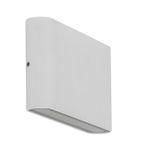 HV3644-WHT - LISSE White Up & Down LED Wall Light 2