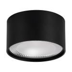 HV5805-BLK - NELLA Black 18w Surface Mounted LED Downlight 1