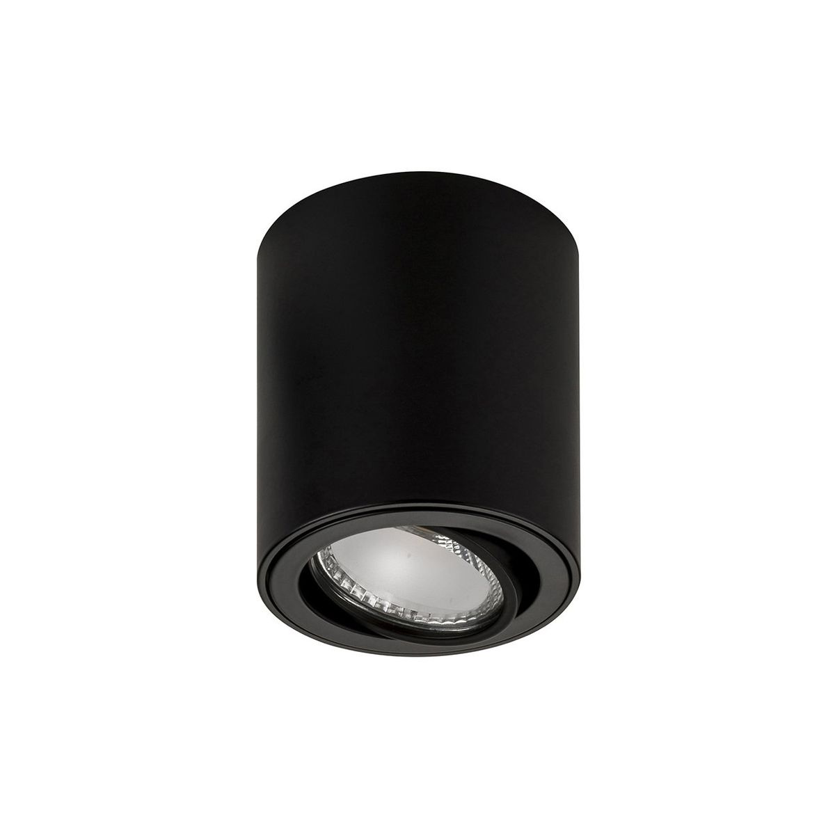 HV5812-BLK - NELLA 7w LED Black Adjustable Surface Mounted Downlight – Bild 1