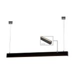 HV6004-BLK - PROLINE 6080 Black Up & Down LED Pendant 1