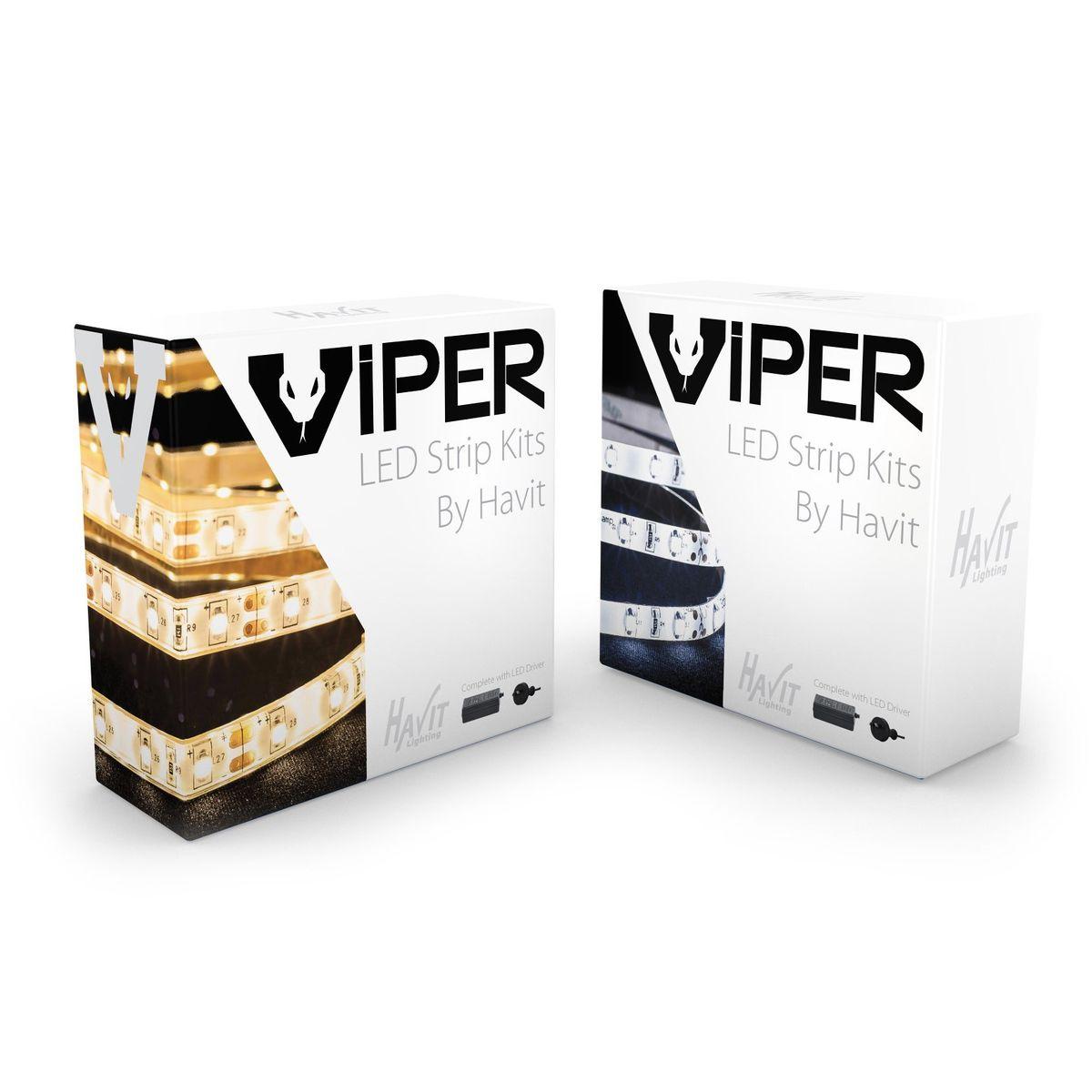 VPR9783IP54-60-5M - VIPER 14.4w 5m LED Strip kit 3000k – Bild 1