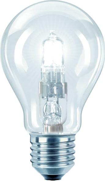 ECO Halogen A55 E27, Verbrauch 28 Watt, 370 lm Leuchtmittel – Bild 1