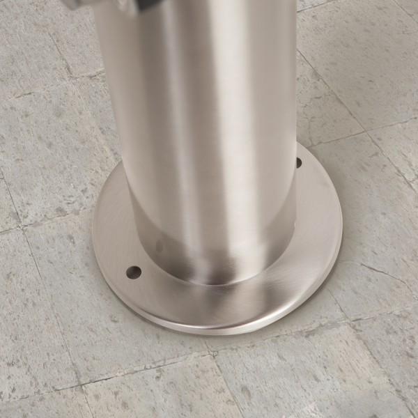 Edelstahl Gartensteckdosen Steckdosensäule Aussenbereich BT1003P 4*BNC Grau mit 4 Steckdosen – Bild 6