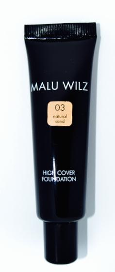 Malu Wilz High Cover Foundation Nr. 03 Natural Sand 30ml