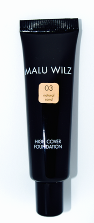 Malu Wilz High Cover Foundation Nr. 03 Natural Sand 30ml