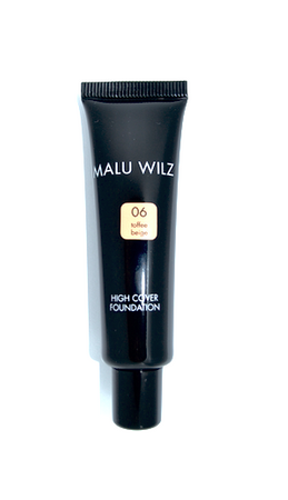 Malu Wilz High Cover Foundation Nr. 06 Toffee Beige 30ml