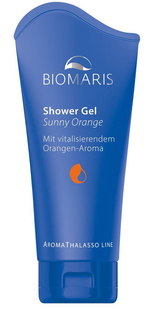 Biomaris Aroma Thalasso Shower Gel Sunny Orange 200ml