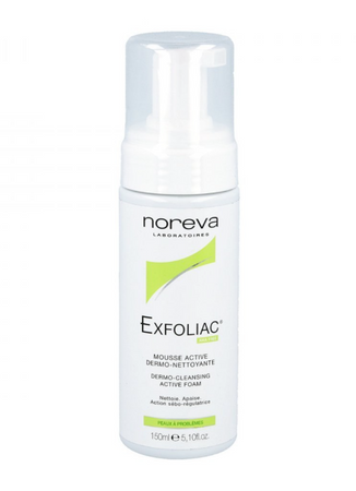 noreva Exfoliac Reinigungsschaum 150ml – Bild 2
