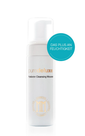 puredeluxe Hyaluron Cleansing Mousse 150ml