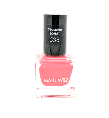 Malu Wilz Nagellack Nr. 538 strawberry sorbet 9ml