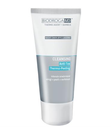 Biodroga MD Cleansing Anti-Tox Thermo Peeling reinigt, peelt, wärmt und verfeinert die Haut 75ml