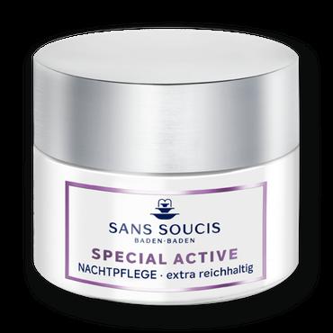 Sans Soucis Special Active Nachtpflege extra rich 50ml