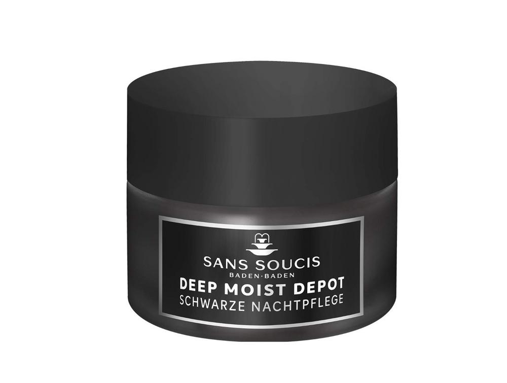Sans Soucis Deep Moist Depot schwarze Nachtpflege 50ml