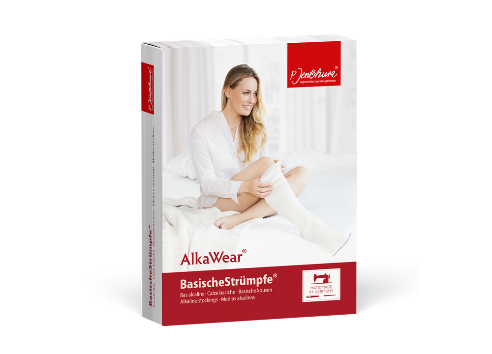 P. Jentschura AlkaWear Basische Strümpfe Innen- und Außenstrümpfe je 1 Paar
