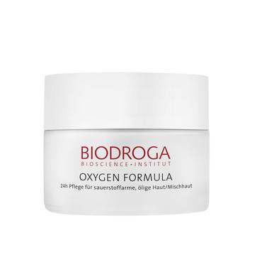 Biodroga Oxygen 24h Creme ölige Haut Mischhaut 50ml