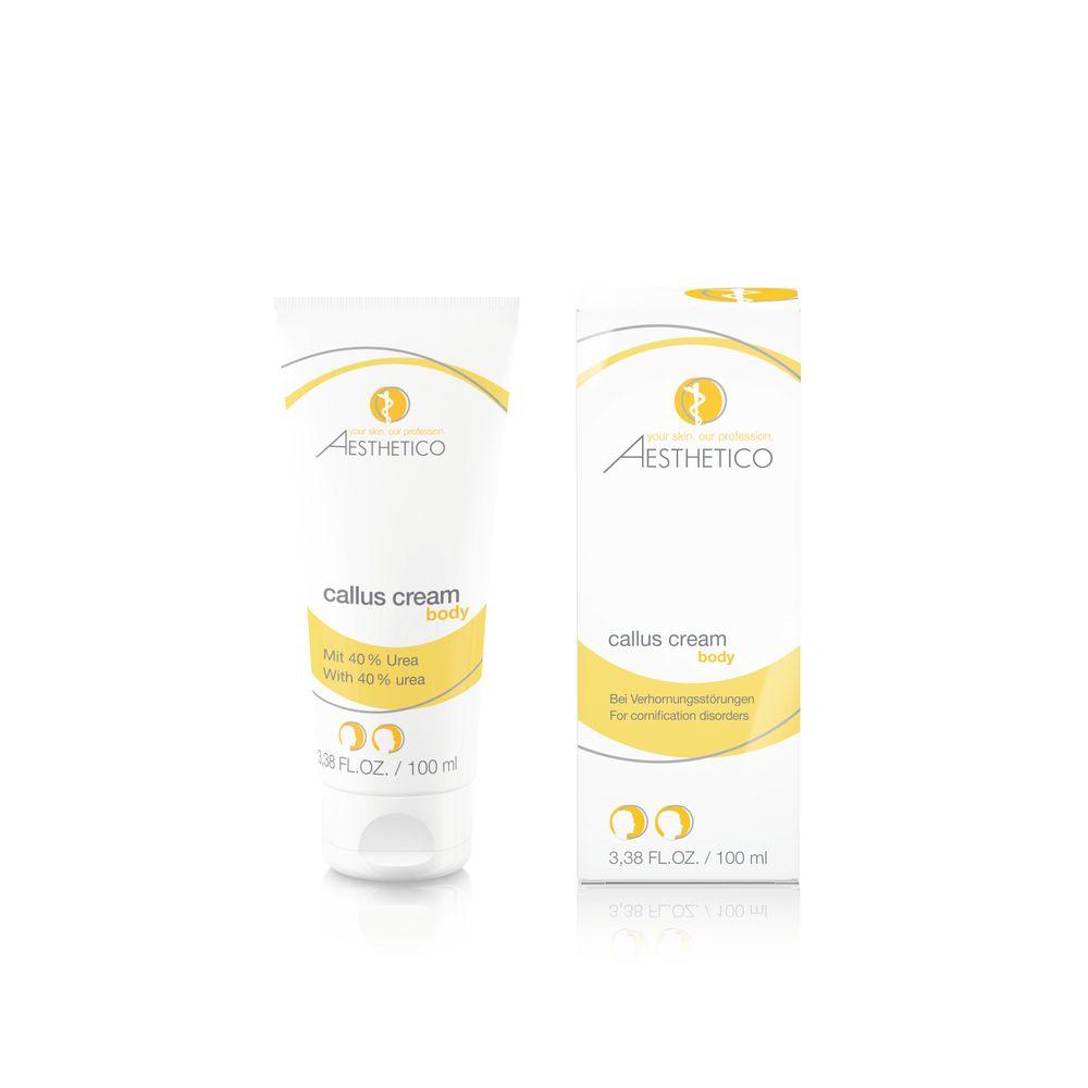 Aesthetico Callus Cream 40% Urea 100ml - Creme bei Verhornungen
