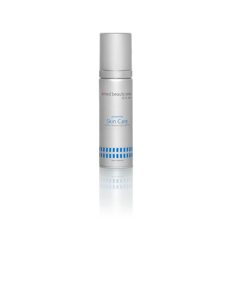 med beauty preventive Skin Care oilfree Moisturizer Cream LSF 15 - 50ml