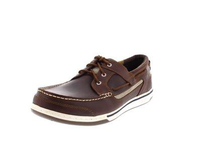 SEBAGO Schuhe in Übergröße - TRITON THREE EYE - walnut