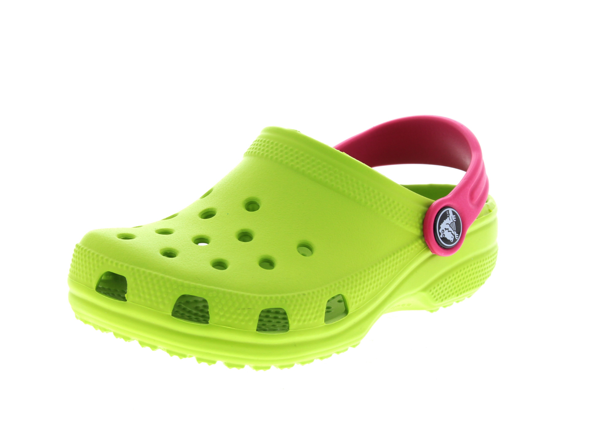 CROCS Kinderschuhe - CLASSIC KIDS volt green raspberry_0