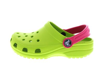 CROCS Kinderschuhe - CLASSIC KIDS volt green raspberry preview 2