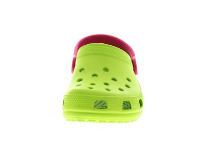 CROCS Kinderschuhe - CLASSIC KIDS volt green raspberry preview 3