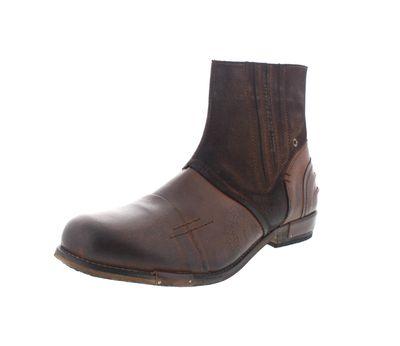 YELLOW CAB in Übergrößen Boots CHOPPER 16006 mid brown