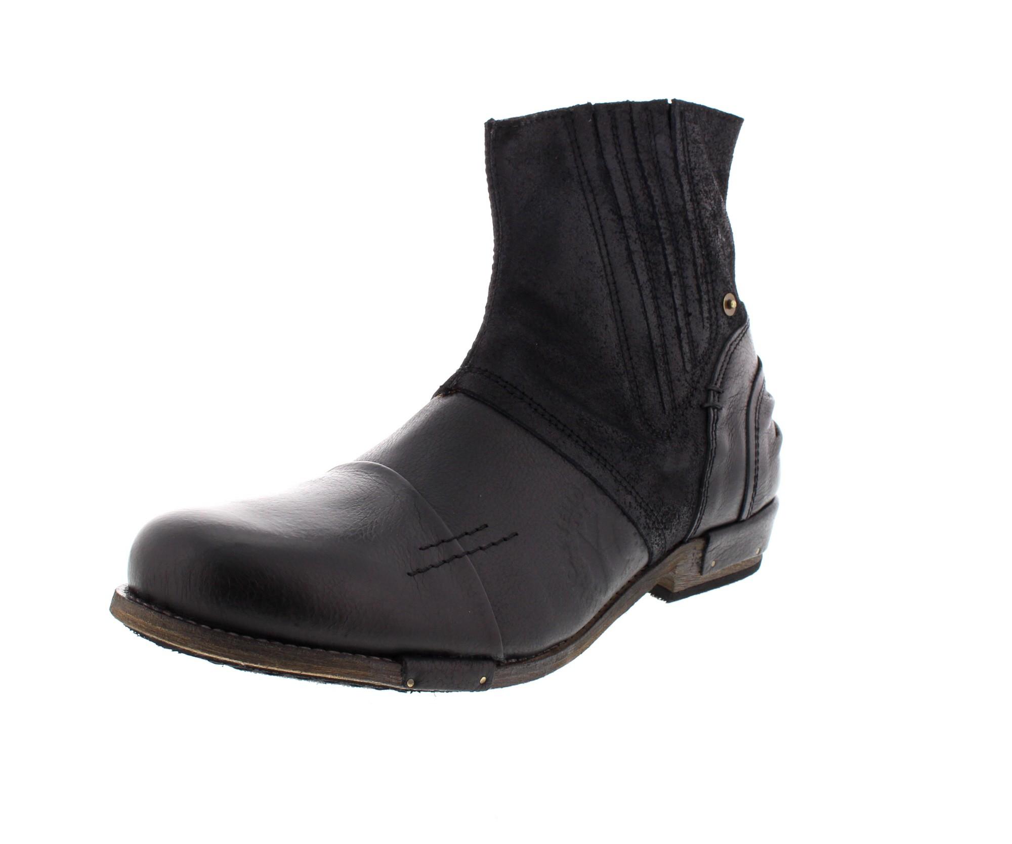 YELLOW CAB in Übergrößen - Boots CHOPPER 16006 - black