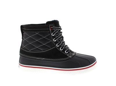 CROCS Schuhe - Stiefel AllCast Duck Boot - black white preview 4
