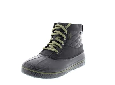CROCS - AllCast Waterproof Duck Boot - black army green