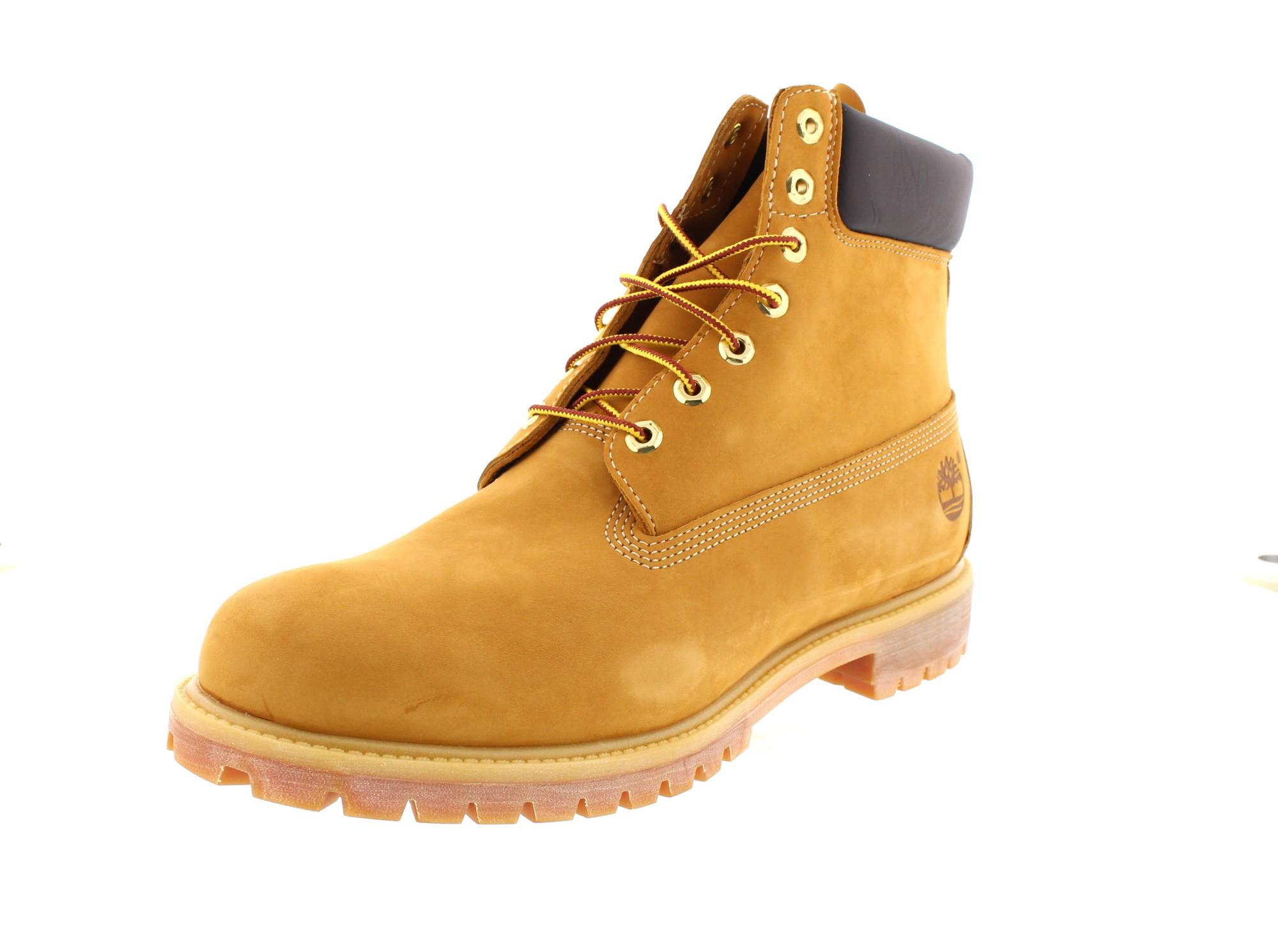 TIMBERLAND in Übergröße 6 Inch Premium Boot 10061 wheat