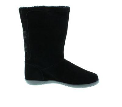 CROCS - Stiefel ADELA FOLDOVER FUZZ Bootie - black preview 4