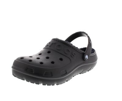 CROCS - Gefütterte Clogs HILO LINED CLOG - black black preview 1