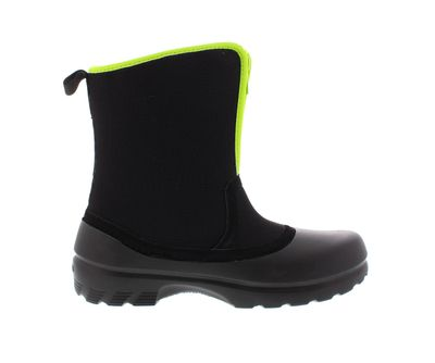 CROCS Stiefel - GREELEY NYLON Boot - black volt green preview 4